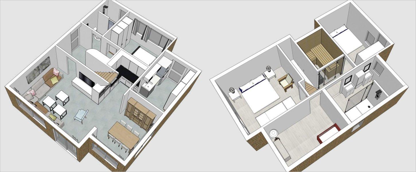 rivage-37 doorsnede huis
